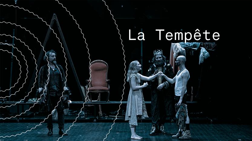 Visuel du spectacle La Tempête